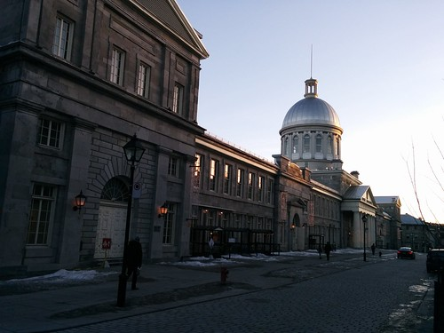 Towards the Marché Bonsecours