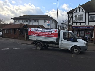 Backing Bromley Whistleblowers Campaign Tour Bus | by BACKING BROMLEY