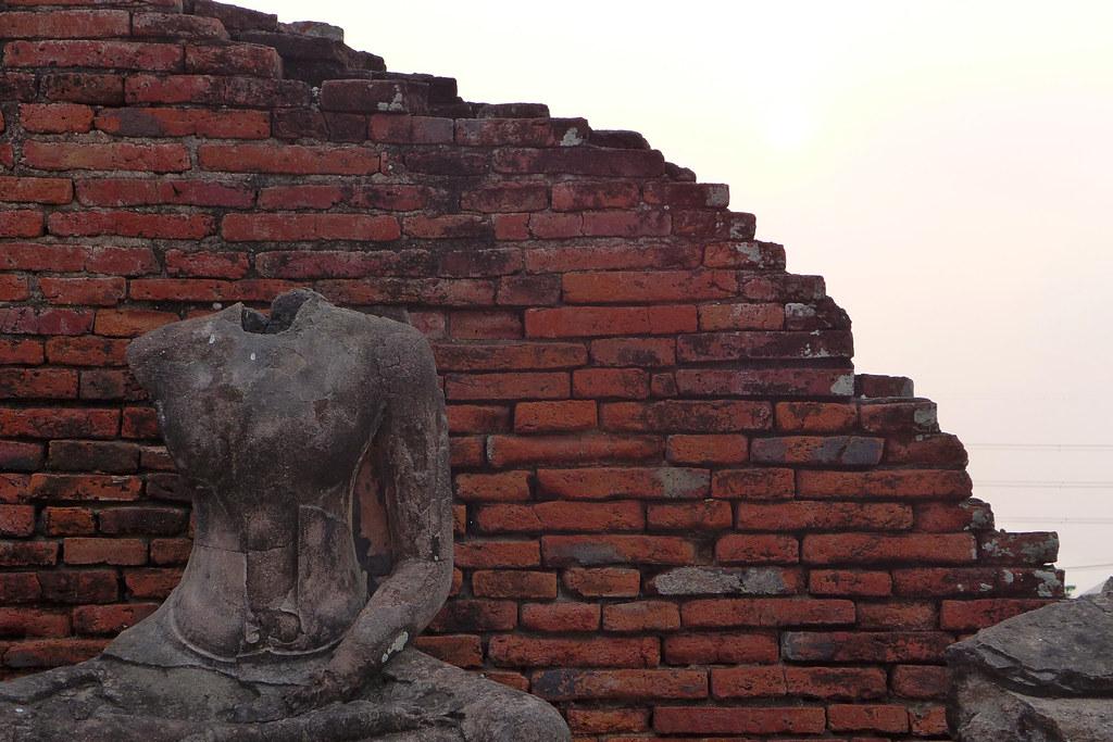 Thaïlande - Ayutthaya - 169 - Wat Chaiwatthanaram