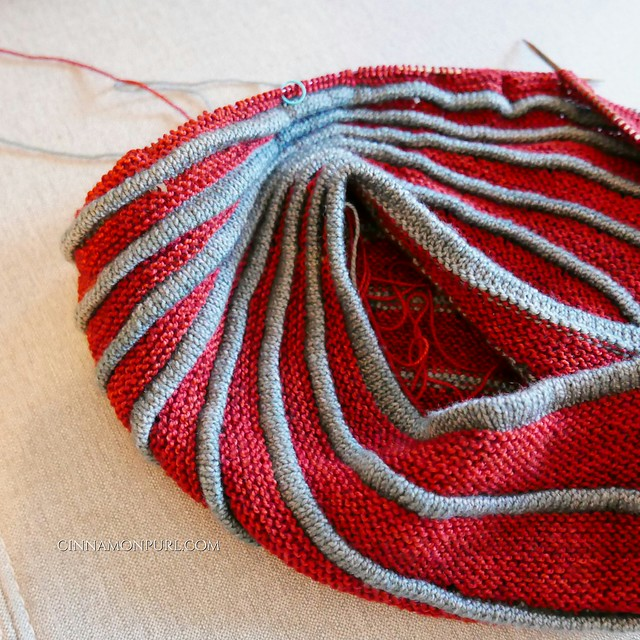 batad westknits in red and grey