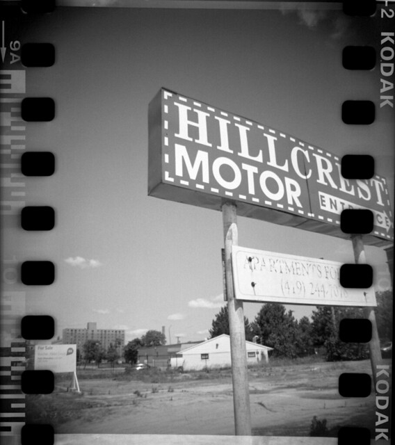 Hillcrest Motor Entrance