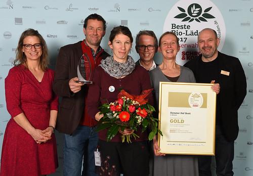 """Demeter-Hof Breit ist """"Bester Hofladen"""" der Schrot&Korn Leserbefragung"""