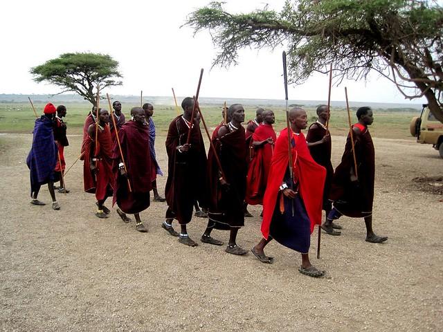 Masái de Tanzania
