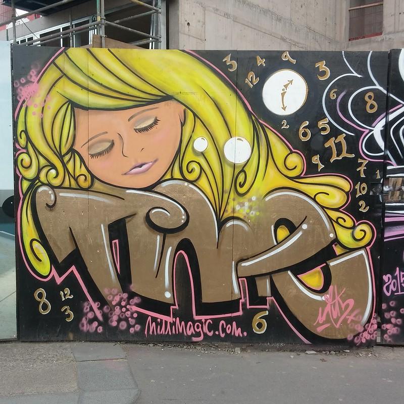 Wood Street art.