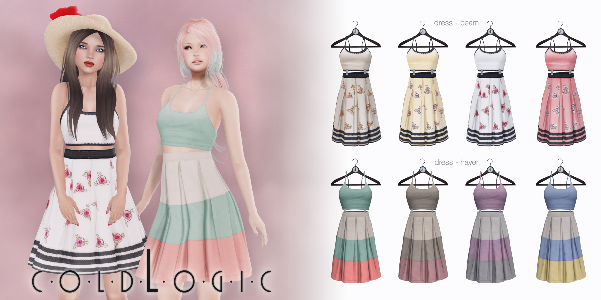 coldLogic dress - beam & haver