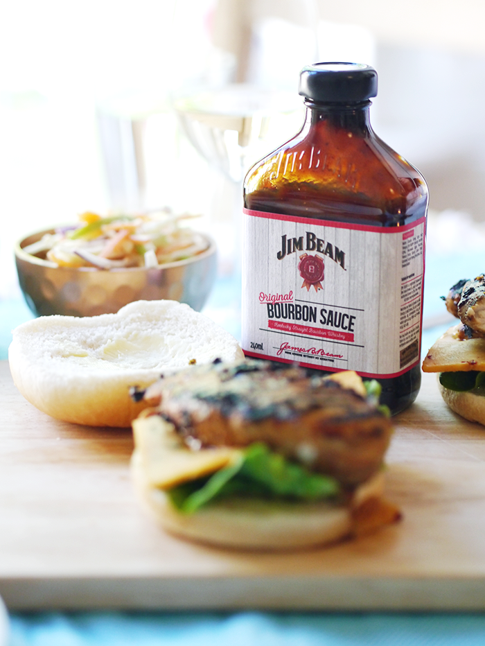 jim beam bbq chicken burgers apple slaw recipe 6