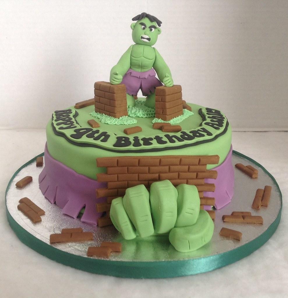 Hulk Birthday Cake Liz Flickr