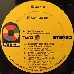 BLACK MAGIC!:WHERE LOVE IS(LABEL SIDE-B)
