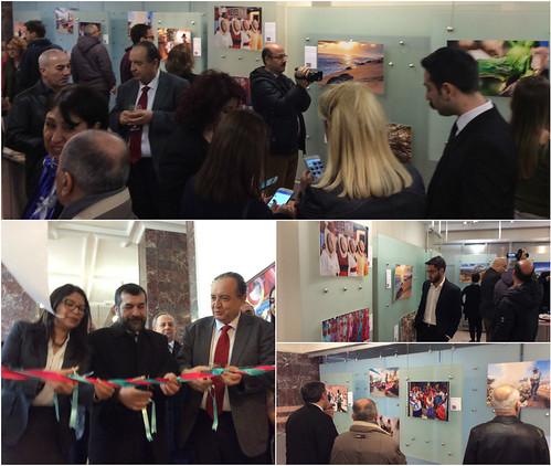 Inauguración de la exposición Oaxaca tierra de dioses inmortales de Fernando Franco en la Universidad Eskişehir Osmangazi