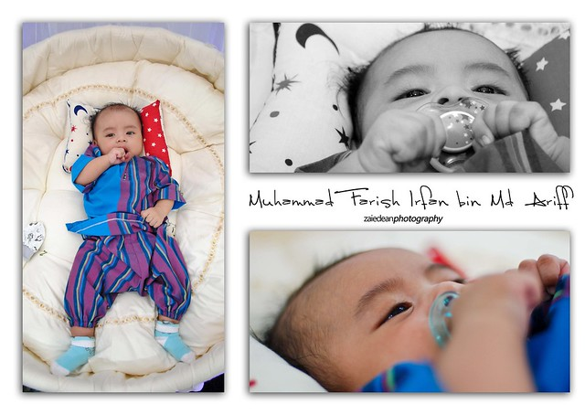 Cukur Jambul : Muhammad Farish Irfan bin Md Ariff