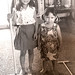 With my big sister Janet in Okinawa