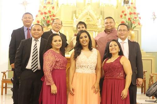 Festa em  comemoração as  Bodas de Ouro do Casal José Alves Martins (Didé) & Amélia Martins