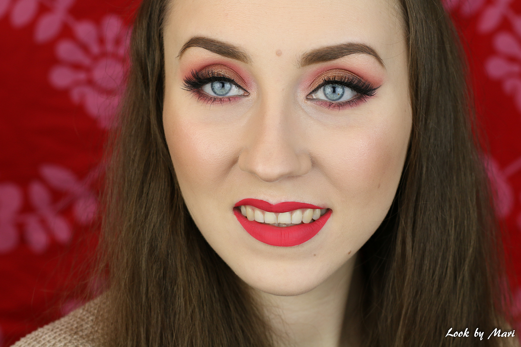 3 valentine's day makeup ideas bold pink warm toned tones pretty