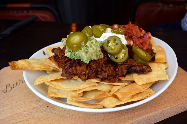 Beef Brisket Nachos at The Burger Brothers