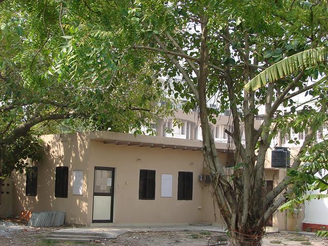 Under construction office in Prachin Ganesh Mandir