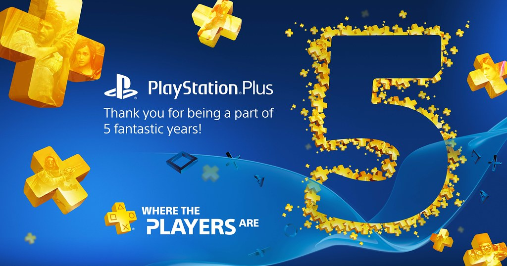 PS Plus 5 Years