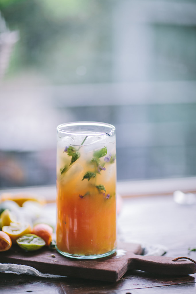 Gin Citrus Punch by Eva Kosmas Flores | Adventures in Cooking