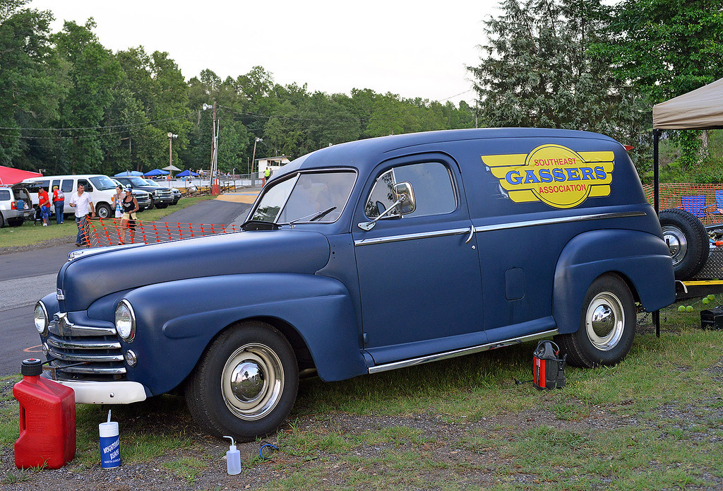 SE Gassers 1948 Ford Panel truck | At Shady Side Dragway nea