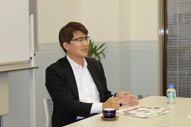 井田高志氏