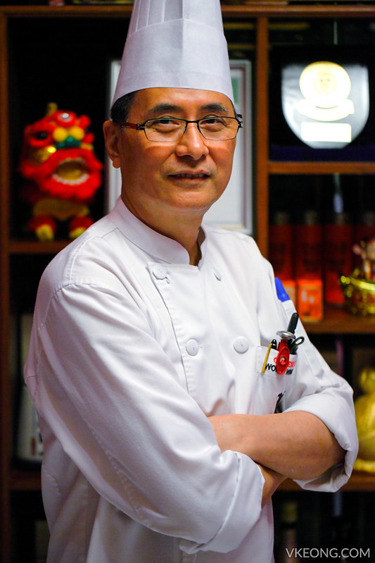Chef Wong Wing Yeuk Shanghai JW Marriott