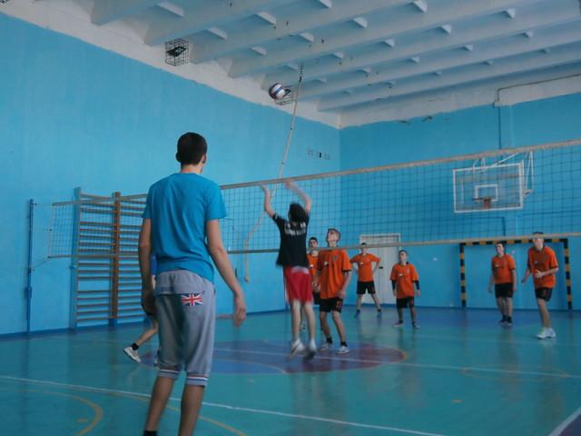 Спаринг з волейболу