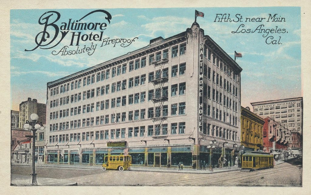 Baltimore Hotel - Los Angeles, California