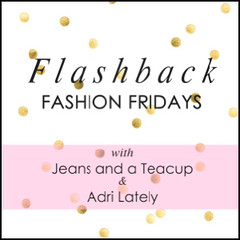 Flashback Fashion Friday Button