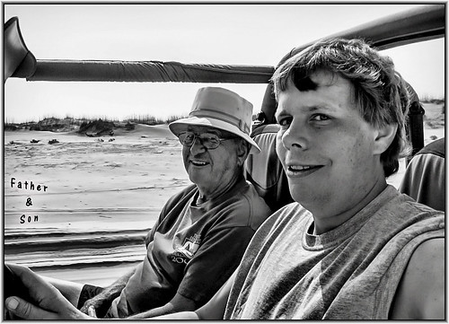 Me And Dad / Vacation 2008 | by Pentax K-x Connecticut Man