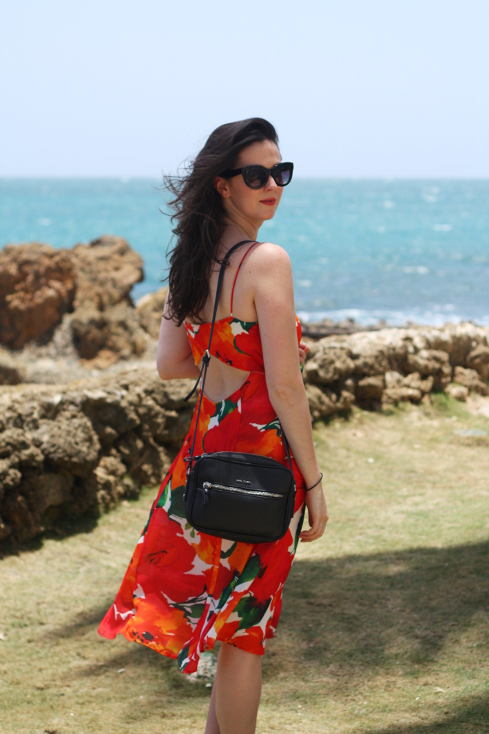 Outfit: Poppies in Puerto Rico