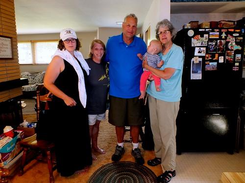 Emily, Vickie, Mitch, Josie & Carol