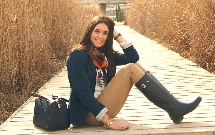 Beautiful Women Wearing Boots 78