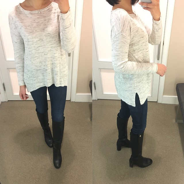 Lou & Grey Ribside Sweater, size XS regular