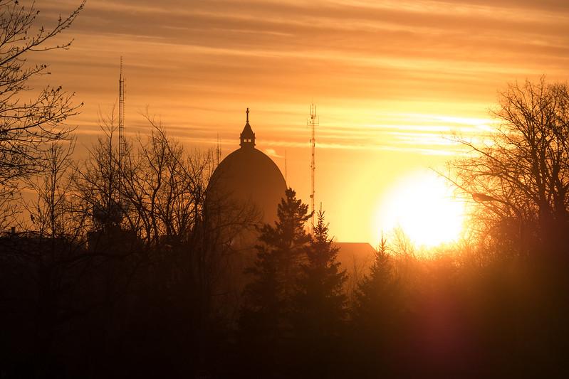 Depuis le Mont-Royal, l'Oratoire Saint Joseph 31513880444_418de0f02b_c