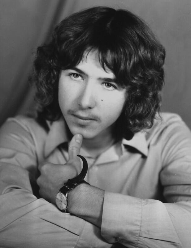1972 Женя Сидоров портрет фотоателье