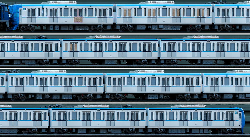 東京メトロ15000系 甲種輸送