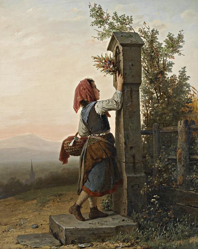 Johann Georg Meyer von Bremen - Auf dem heimwege