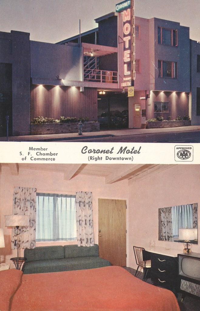 Coronet Motel - San Francisco, California