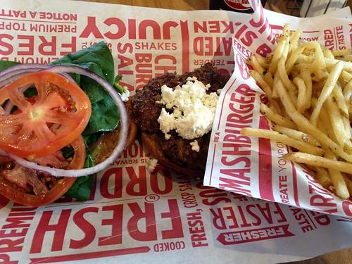Arugula Burger