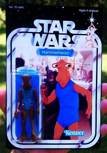 Custom Star Wars action figures by TD 5491 Phenix Customs - Hammerhead