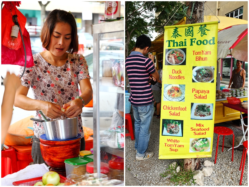 Yellow Thai Food Truck Menu