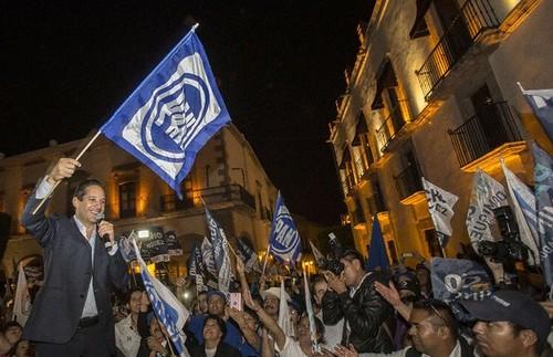 Triunfo irreversible del PAN en Querétaro