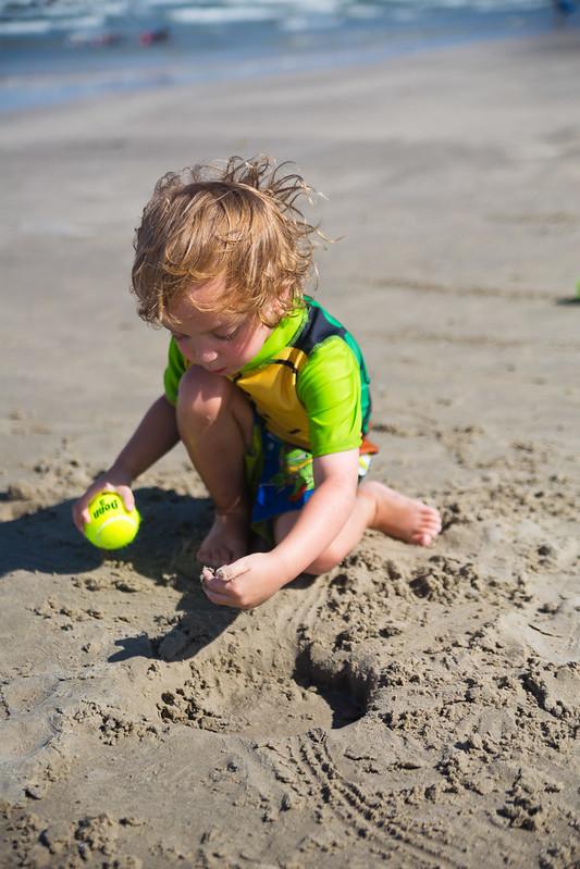Beach Bowling Game