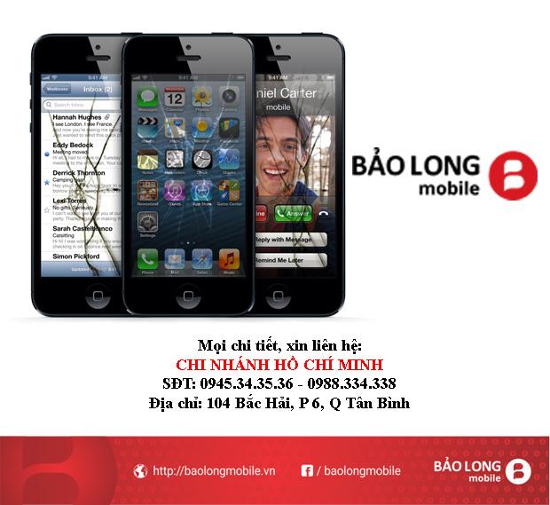Các nơi chính hãng cần đến khi cần thay màn hình iPhone 5 ở tại SG