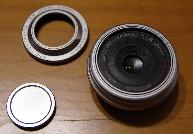 Vends mon 40mm DA Limited Silver ( version 1) à 300€ 18750397929_69c8186060_z