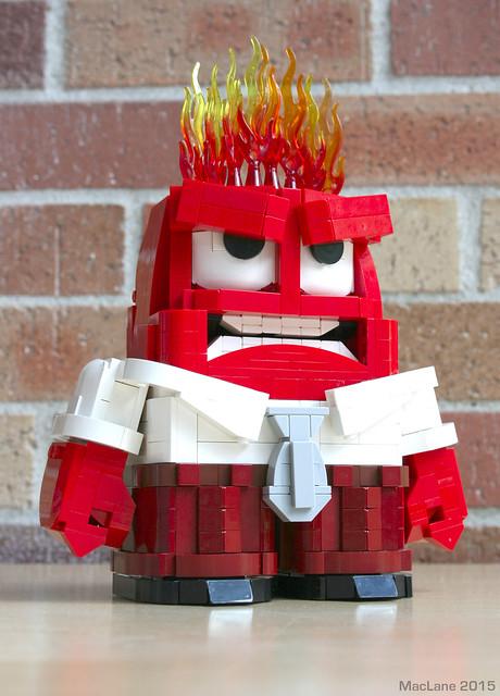 LEGO Anger