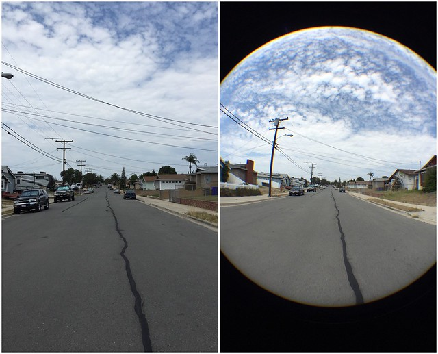 Before and After with 37mm Fisheye