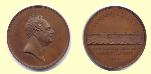 London-Bridge-Opening-Medal obverse