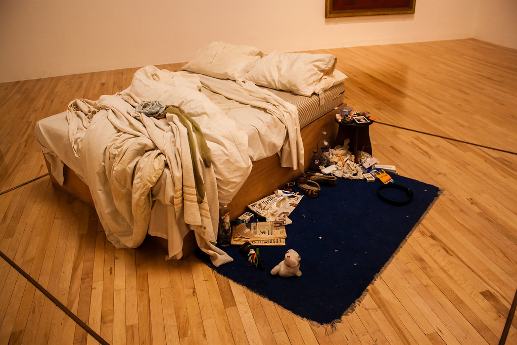 My Bed Tracey Emin Tate Britain Andy Hay Flickr