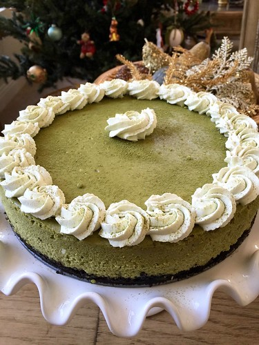 Matcha Green Tea Cheesecake | by The Culinary Chronicles