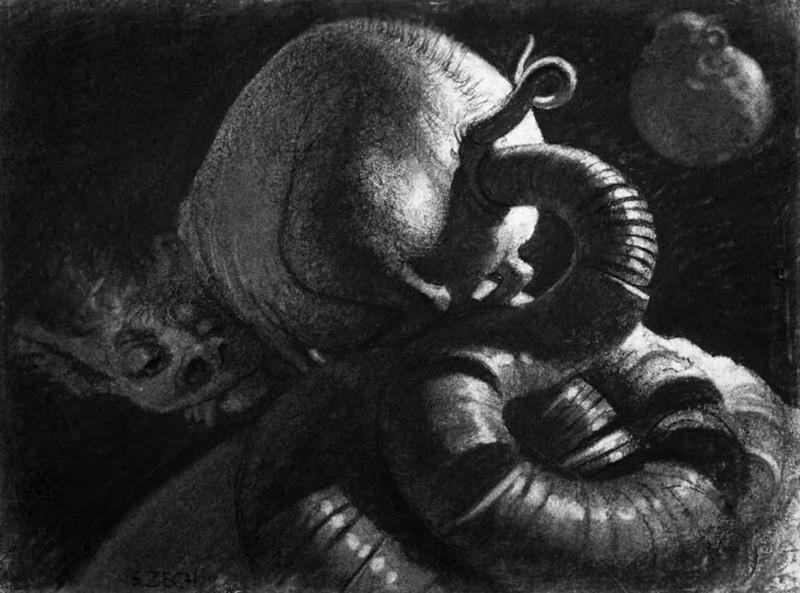 Stefan Zechowski - Hydra Mammon, 1943
